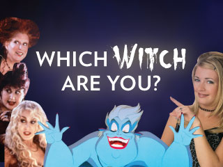 Which Witch Are You? Find Out – If You Dare!