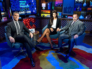 Andy Cohen Says Teresa and Joe Giudice Were the Most Difficult to Interview | Andy Cohen, Joe Giudice, Teresa Giudice