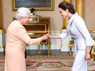 Angelina Jolie Receives Her 'Honorary Dame' Award from Queen Elizabeth | Angelina Jolie