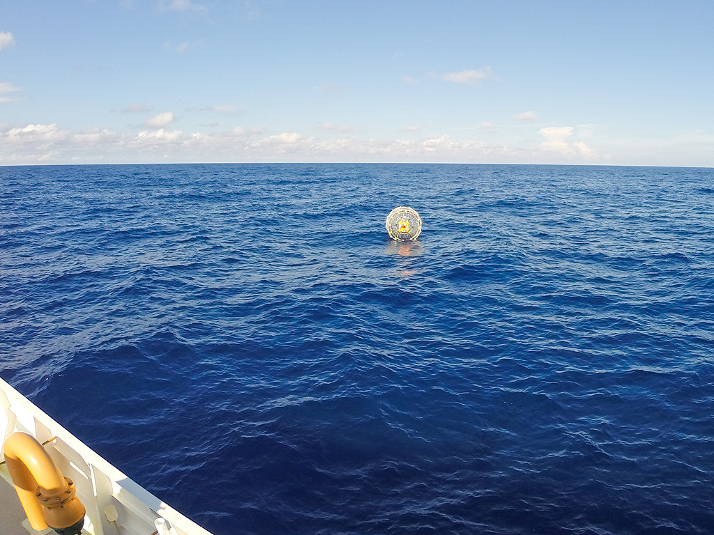 Man Floating in Bubble Rescued by Coast Guard off the Coast of Miami