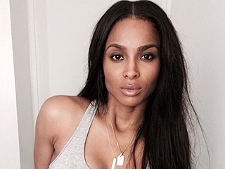 Ciara Strips Down to Show Off Her Post-Baby Body