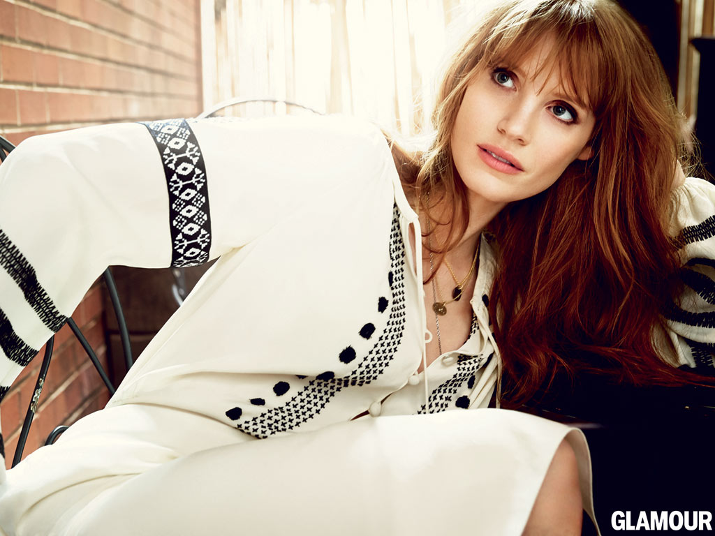 Jessica Chastain on Bullying and Being a Late Bloomer in Glamour