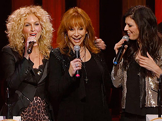 Reba McEntire Surprises Little Big Town with an Opry Invitation