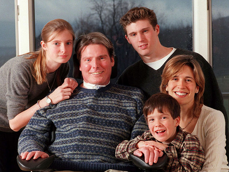 Christopher Reeve's Son Gives First Look at Amazing Progress in Spinal Cord Injury Research| Health, Good Deeds, Christopher Reeve, Dana Reeve