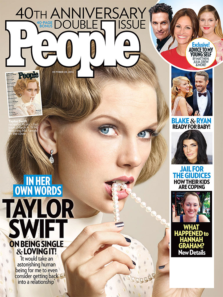 Taylor Swift: This Is a 'Freeing Time' in My Life| People Magazine's 40th Anniversary, Taylor Swift