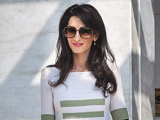 Amal Clooney Tackles Her New Case (Stylishly!) in Greece: PHOTO