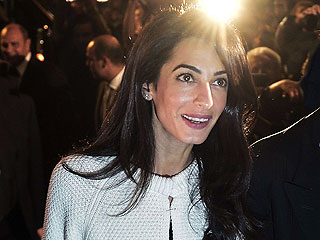 With a New Name, Amal Clooney Gets Back to Work
