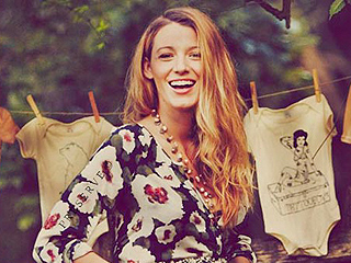 Blake Lively Cradles Baby Bump at Intimate, Fun-Filled Fete (PHOTOS)