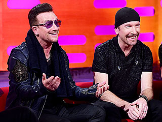 So This Is the Reason U2's Bono Has Been Wearing Shades All These Years