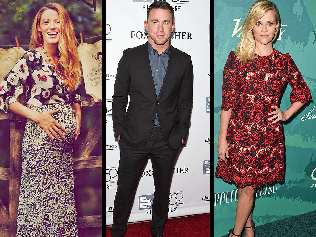 Blake Hugs Her Bump, Channing Has His Moves Approved & More Weekend News