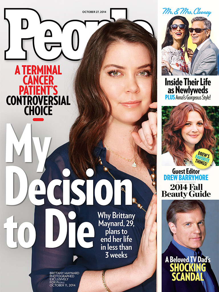 Brittany Maynard, Death with Dignity, terminally ill, brain cancer