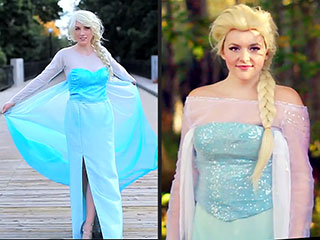 4 Easy, DIY Ways to Dress Up as Frozen's Elsa for Halloween