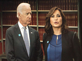 Joe Biden and Mariska Hargitay Team Up Against Campus Rape