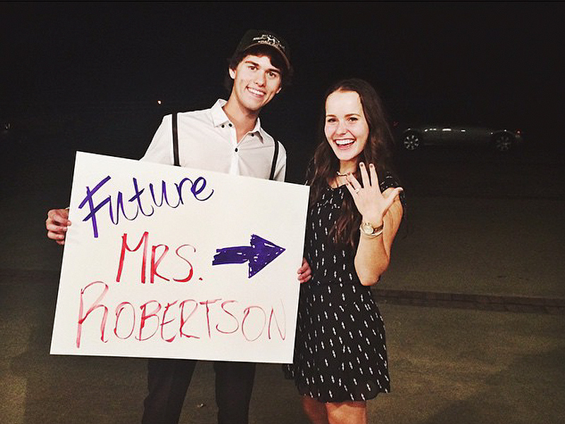 Duck Dynasty John Luke Robertson Is Engaged to Mary Kate McEacharn