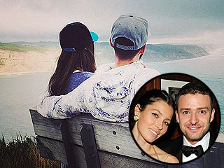 See Justin Timberlake's Romantic Moment with Jessica Biel (PHOTO)