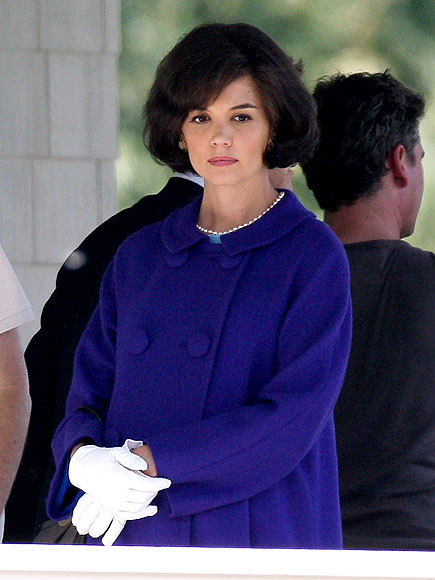 History Channel Won't Show Katie Holmes Miniseries The Kennedys