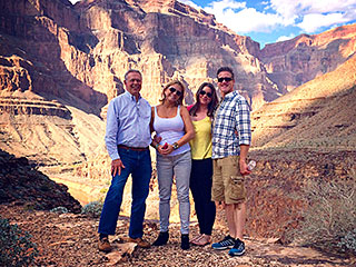 Terminally Ill Brittany Maynard Realizes a Wish, Visits Grand Canyon