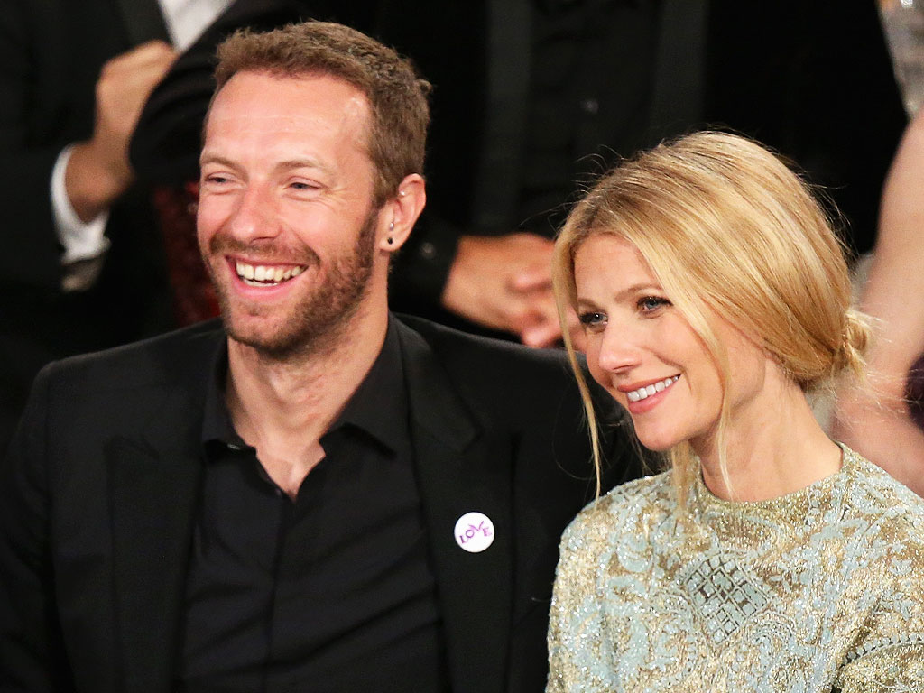 Gwyneth Paltrow and Chris Martin's Family-Friendly Dinner