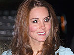 Kate Dazzles During Glam Night