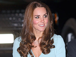 Kate Dazzles During Glam Night Out