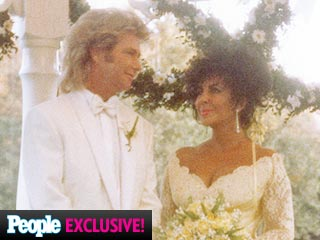 See New Photos of Elizabeth Taylor at Her Final Wedding