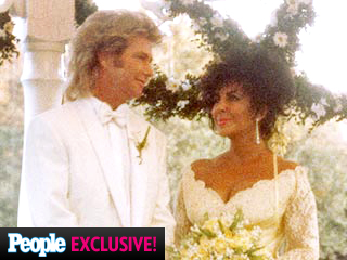 See New Photos of Elizabeth Taylor at Her Final Wedding | Liz Taylor