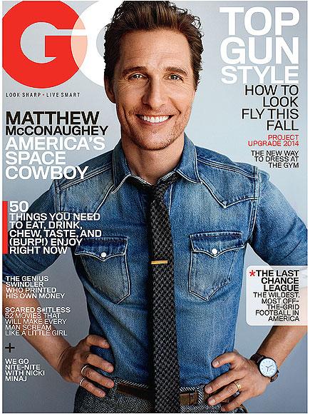 Matthew McConaughey on Getting Married: 'I Had to Really Want To'| Dallas Buyers Club, Camila Alves, Matthew McConaughey