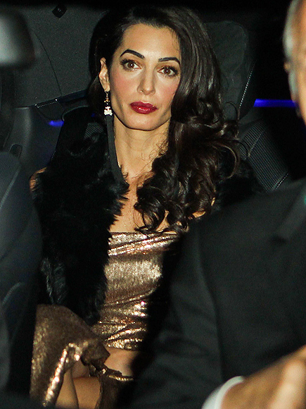 All the Details! George & Amal Clooney Celebrate with Post-Wedding Party in England| Couples, Weddings, Amal Alamuddin, George Clooney