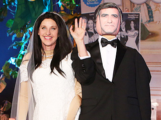 Ellen's Halloween Costume Is George & Amal on the Cover of PEOPLE!