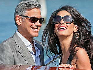 George and Amal Clooney Celebrate with Post-Wedding Party in England