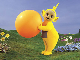 Man Breaks into Home Dressed as a Teletubby, Steals Leftover Chinese Food
