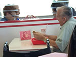 Widower Keeps Late Wife's Memory Alive by Dining with Her Photo
