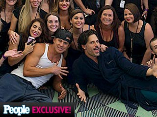 PHOTO: Magic Mike XXL Cast Treats Fans to Sexy Dance Scene