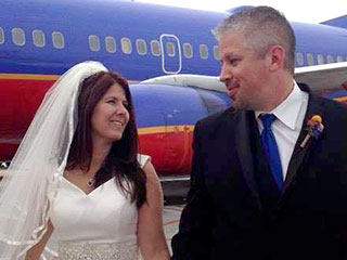 Love Is in the Air: Bride and Groom Wed at 35,000 Feet