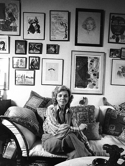 Lauren Bacall manhattan apartment