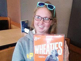 Terminally Ill College Athlete Lauren Hill Featured on Wheaties Box