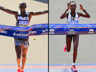 And the N.Y.C. Marathon Winners Are ...