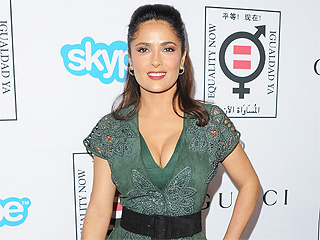 Salma Hayek: I Try to Be an Example for My Daughter
