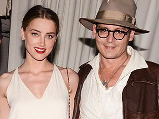 Johnny Depp and Amber Heard's Cozy Night Out in L.A.