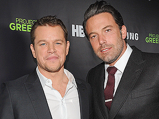 Ben Affleck & Matt Damon: 'We Have Great Wives'