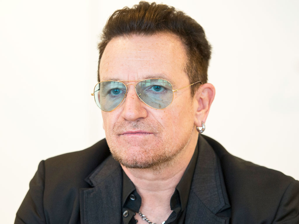 Bono Says He May Never Play Guitar Again After Bike Crash