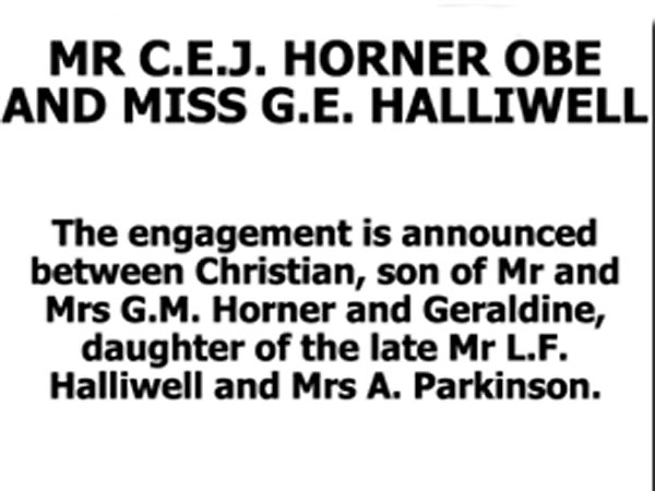 Former Spice Girl Geri Halliwell Engaged to Christian Horner| Spice Girls, Couples, Engagements, Geri Halliwell