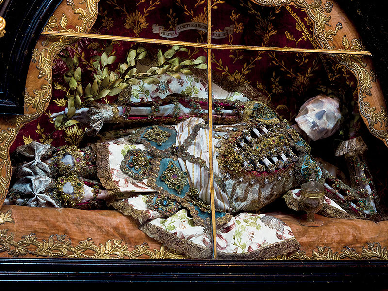 Beauty Beyond the Grave: The Story Behind Europe's Bejeweled Skeletons| Around the Web
