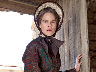 How Does Hilary Swank Connect to Her Family's Frontier Roots After Wrapping The Homesman?