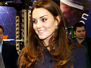 A Sporty Princess Kate Meets with Young Athletes
