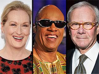Meryl Streep, Stevie Wonder to Receive Presidential Medal of Freedom
