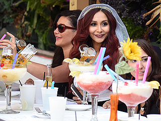 Snooki Lets Loose at Bachelorette Party in Miami Beach