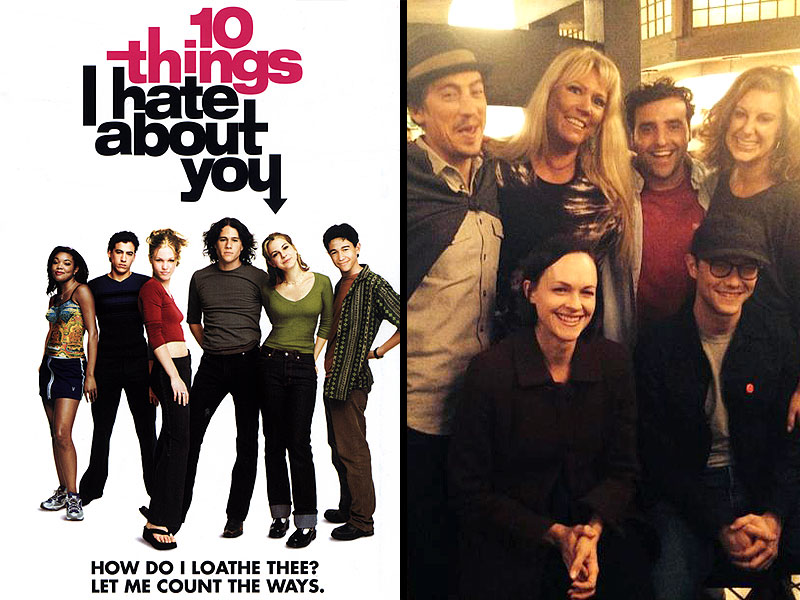 10 Things I Hate About You Cast: 10 Things I Hate About You Reunion : People.com