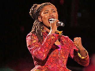 Anita Antoinette Proudly Sings for Jamaica on The Voice