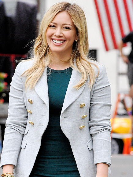 Hilary Duff Gets Carded at Ladies Lunch